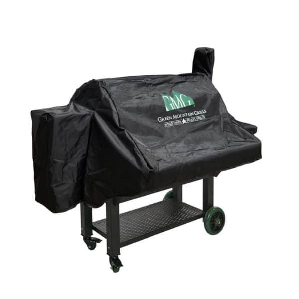 GMG Jim Bowie Prime Grill Cover from the side