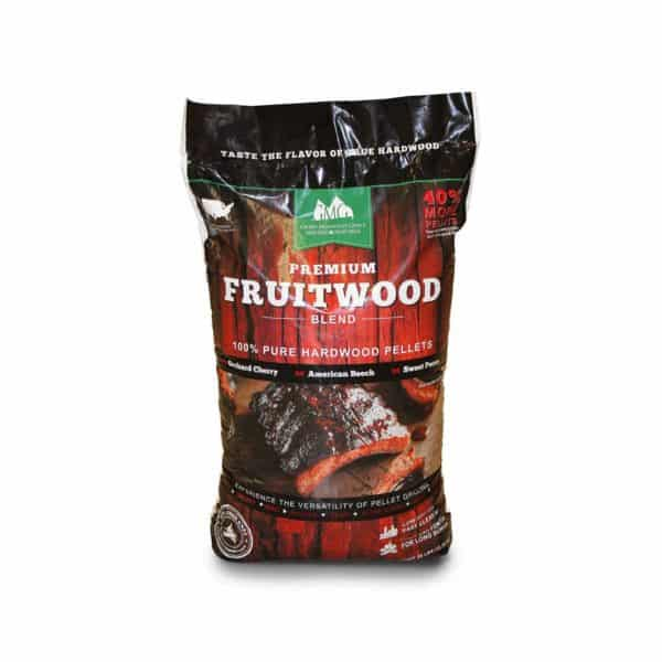 GMG Premium Fruitwood Blend wood pellets