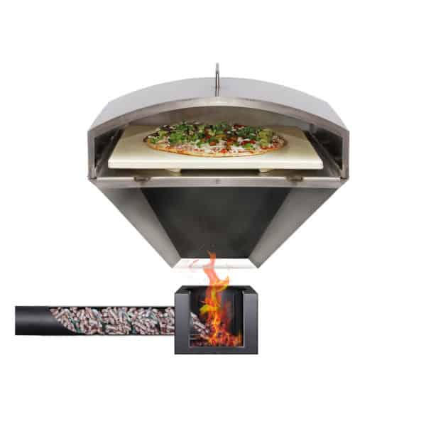 Wood-Fired Pizza Attachment illustration