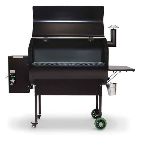 GMG Jim Bowie Choice Grill hood up